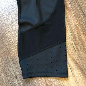 Athleta Pants - Athleta | Perforated Mesh Cropped Workout Legging